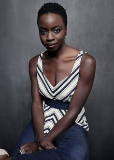 Danai Gurira photographed by Jesse Dittmar for New York Times (outtake)