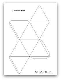 download geometric shape templates craft w tutorial pinterest