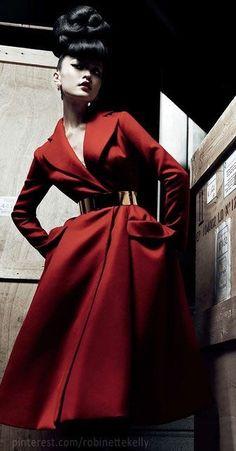 "notordinaryfashion: "" Christian Dior Haute Couture """