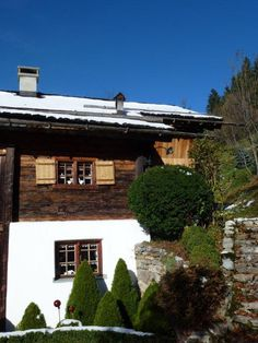 old house in Barthlomäberg, Montafon, Austria