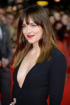 Dakota Johnson stuns at the 'Fifty Shades of Grey' premiere at the 65th Berlinale International Film Festival at Zoo Palast on Feb. 11 in Berlin, Germany.