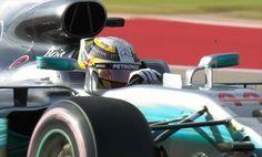 Gp Usa: Hamilton in pole seconda la Ferrari di Vettel