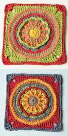 Circles of the Sun Mystery CAL 2015 - overlay crochet - Block 1 #free crochet pattern by LillaBjornCrochet