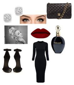 """""""All black ❤️"""" by lynn0711 on Polyvore featuring Isabel Marant, Chanel, Roberto Cavalli, WithChic, Bloomingdale's, women's clothing, women's fashion, women, female and woman"""