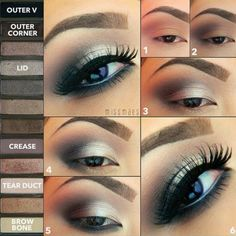 Naked 2 palette eyeshadow pictorial