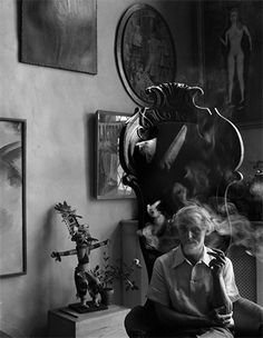 Max Ernest, by photographer Arnold Newman