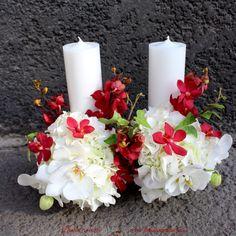 #lumanari #cununie #nunta  #hortensie #trandafiri #wedding #candles #white #romantic #red #mokara #orchids #flori #orhidee #lumanare #stalp #wedding #flowers #paulamoldovan #livadacuvisini Pillar Candles, Orchids, Wedding Flowers, Romantic, Romance Movies, Romantic Things, Candles, Romance, Orchid