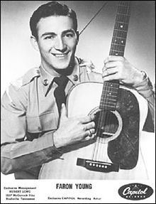 "Faron Young (February 25, 1932 – December 10, 1996) was an American country music singer and songwriter from the early 1950s into the mid-1980s and one of its most successful and colorful stars. Hits including ""If You Ain't Lovin' (You Ain't Livin')"" and ""Live Fast, Love Hard, Die Young"" marked him as a honky-tonk singer in sound and personal style; and his chart-topping singles ""Hello Walls"" and ""It's Four in the Morning"" showed his versatility as a vocalist. Known as the Hillbilly Heartthr..."