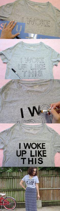 DICA: Ao invés de marcar a caneta, pinte direto com a tinta preta
