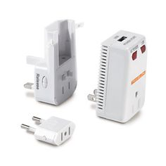 An adaptor, converter and USB charger - all in one!