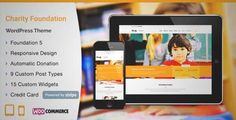 Download and review of Charity WordPress Theme, one of the best Themeforest Non-profit themes {Download & review at|Review and download at} {|-> }http://best-wordpress-theme.net/charity-download-review/