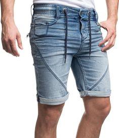 f1bcb0a954aec0 SUBLEVEL Jeansshorts »61584« stylische Bermuda in angesagter Used-Optik für  34