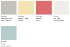 Teen Space Glam palette----Get your paint color right the first time by calling Concept Candie Interiors-Paint Colors-www.conceptcandie.com