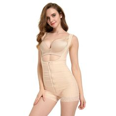 2acccb676 Queenral Womens Slimming Black Bodysuit Shapewear for Women Tummy Control    Be sure to check out