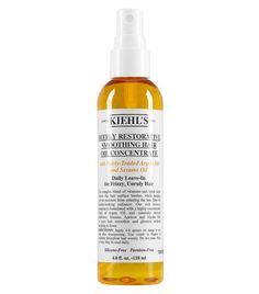 Deeply Restorative Smoothing Hair Oil Concentrate by Kiehl's Since 1851. Argan oil smoothing serum for dry, damaged hair. Leave-in treatment to reduce frizz. Get smoother, shinier hair.