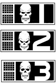 Rogue Trooper, bio-chips of his 3 fallen comrades. Sci Fi Comics, Batman Comics, Fun Comics, Comic Superheroes, Abc Warriors, 2000ad Comic, Graphic Novel Art, Judge Dredd, Classic Comics