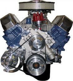 Big Block Ford | Big Block Ford 429-460 Kit with Alternator (WITH MACHINE FINISH ...