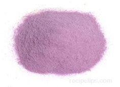 Purple Yam powder? dried and ground taro?