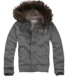 Hollister Men's Gray Faux Coyote Hoodie Jacket XL Hollister http://www.amazon.com/dp/B012LTRCYY/ref=cm_sw_r_pi_dp_c4.1vb1VS729H