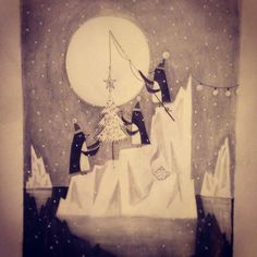 I've been participating in #illo_advent over on Twitter. These are the first ten images.