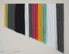 DIY Yarn Wall Art by