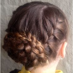 Braided up do for school