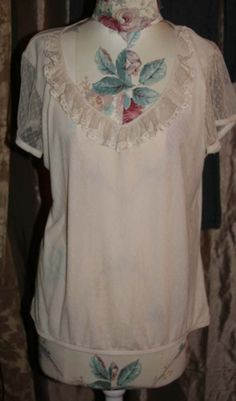 NEW Women's Faded Glory Ruffle Trim Top Size 16 / 18 XL NWT