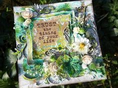 Calico Craft Parts: Flourishing Florals - by Alison