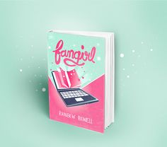 Fangirl | Redesigned Cover I had a lot of fun doing the Eleanor and Park cover before, so I did a new one for Fangirl. Such a brilliant novel by rainbowrowell!