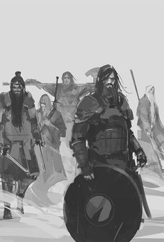 ArtStation - Kings of the Wyld book cover, richard anderson. Medieval Fantasy, Sci Fi Fantasy, Dark Fantasy, Character Concept, Character Art, Concept Art, Drawing Sketches, Drawings, Drawing Ideas