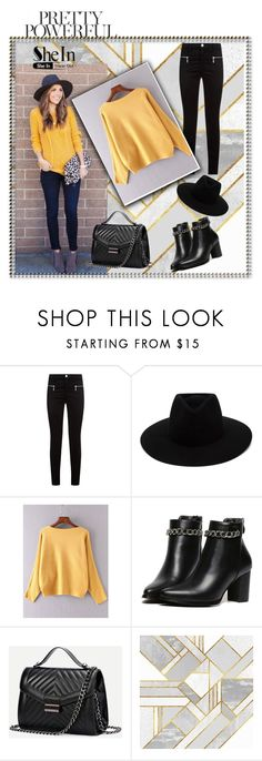 """SheIn 5/VII"" by nermina-okanovic ❤ liked on Polyvore featuring J Brand, Hudson Jeans, rag & bone and shein"