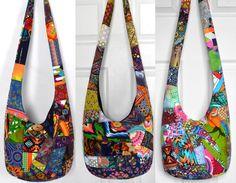 MADE TO ORDER Crossbody Bag Hobo Bag Sling Bag Hippie Purse Hobo Purse Boho Bag Bohemian Purse Patchwork Crazy Quilt Handmade Bag Slouch Bag by 2LeftHandz on Etsy https://www.etsy.com/listing/98849131/made-to-order-crossbody-bag-hobo-bag