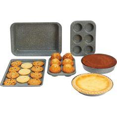 Exclusive Chef's Secret Non-Stick Deluxe 6pc Non-Stick Carbon Steel Bakeware Set #ChefsSecret