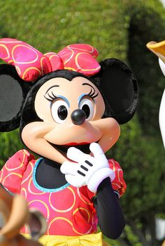Minnie Mouse-Soundsational by snow1937white, via Flickr
