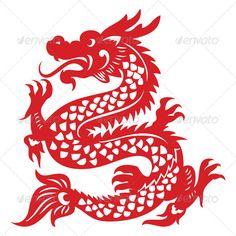 Papercut Dragon