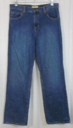Old Navy Jeans Size 16 Husky 31x29 1/2 Straight Leg Free Shipping #OldNavy #ClassicStraightLeg #Everyday