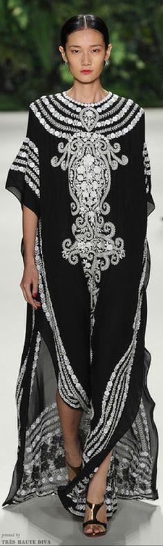 NYFW Naeem Khan Spring 2014  http://www.nytimes.com/fashion