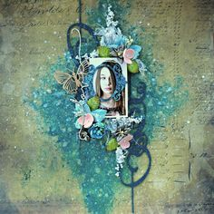 Chipboard : April Layouts By Sandra Bernard Scrapbook Pages, Scrapbooking Ideas, 2017 Design, Chipboard, Layouts, Creations, Crafty, Grunge Style, Blog