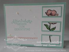 Stampin´UP! jennys_Stempelwelt Grußkarte zum Geburtstag mit dem Set Geburtstagsblumen
