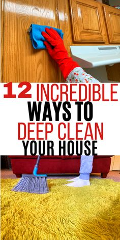 House Cleaning Checklist, Diy Home Cleaning, Homemade Cleaning Products, Deep Cleaning Tips, Household Cleaning Tips, Cleaning Recipes, Natural Cleaning Products, Cleaning Solutions, Cleaning Hacks