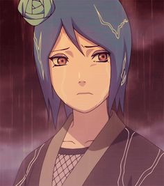 Yahiko and Nagato… I will be the support that holds both our bridges up! -Konan. #naruto