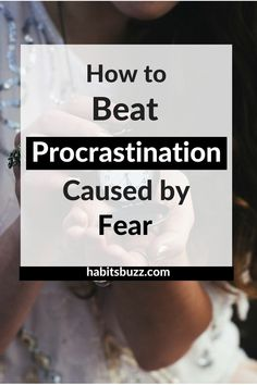 Do you know one of the reasons for procrastination is fear? Here are some tips on how to stop procrastinating when you have fear. Self Development, Personal Development, Development Quotes, 5am Club, How To Stop Procrastinating, Thing 1, Self Improvement Tips, Time Management Tips, Best Self