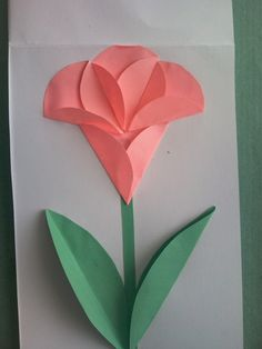 Holiday Crafts For Kids Spring Crafts For Kids Christmas Crafts Art For Kids Butterfly Crafts Flower Crafts Classroom Art Projects Art Folder Newspaper Crafts Origami Design, Origami Art, Paper Flowers Craft, Flower Crafts, Crafts For Teens, Diy And Crafts, Diy Y Manualidades, Origami For Beginners, Mothers Day Crafts