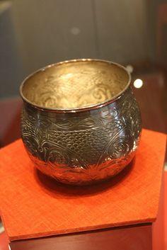 Vikings: #Viking metal bowl (Ribe Viking Museum).