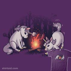 """""""Campicorns"""" by anemality Campfire unicorns"""