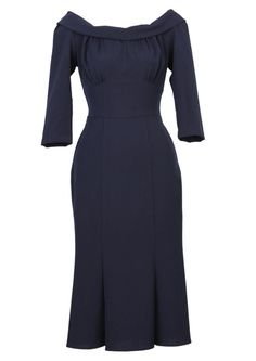Our vintage style dresses are inspired by original garments, photographs or patterns from the & Funky Dresses, Vintage Style Dresses, Pretty Dresses, Vintage Outfits, 1930s Fashion, Timeless Fashion, Retro Fashion, Vintage Fashion, Dress Outfits