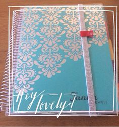 It arrived! My new Turquoise Platinum edition #eclifeplanner14