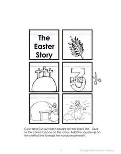 Easter Story Interactive Notebook Activity