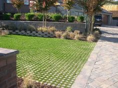 Drivable Grass® Permeable Pavers Project Gallery – Parking