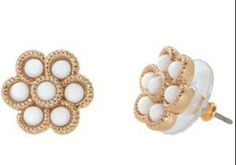 Stella and Dot - unfortunately I can't remember the name of these earrings...